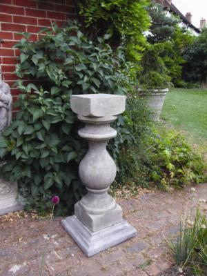 Photo of Grand Baluster Stone Pedestal