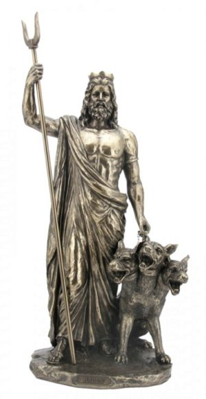 Photo of Hades Greek God of the Underworld Figurine 33cm