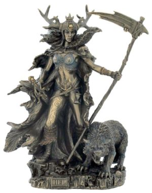 Photo of Hel Bronze Statue Goddess of Helheim