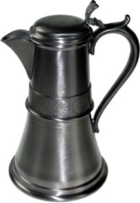 Photo of Medieval Pewter Flagon