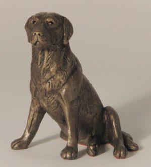 Photo of Nigel Labrador Bronze Sculpture (Frith)