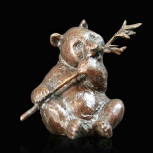Photo of Panda Bronze Figurine (Limited Edition) Michael Simpson