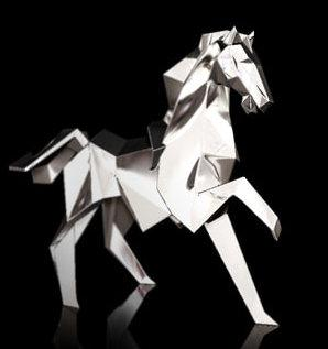 Photo of Pony Hallmarked Sterling Silver Miniature NOMI Design