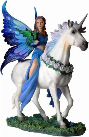 Photo of Realm Of Enchantment Unicorn Figurine (Anne Stokes)