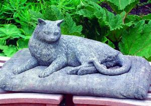Photo of Resting Cat Stone Ornament