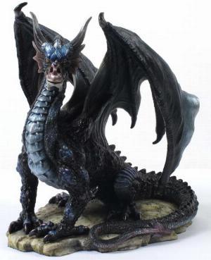 Photo of Rox the Mountain Dragon Figurine