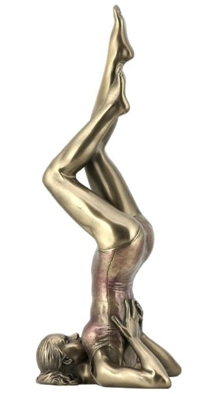 Photo of Salamba Sarvangasana Yoga Figurine Shoulderstand