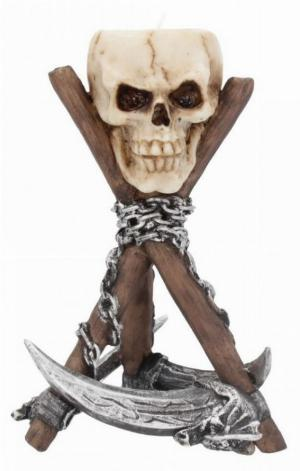 Photo of Scythe Skull Tealight Holder