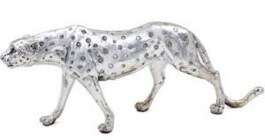 Photo of Silver Art Cheetah Figurine 46cm