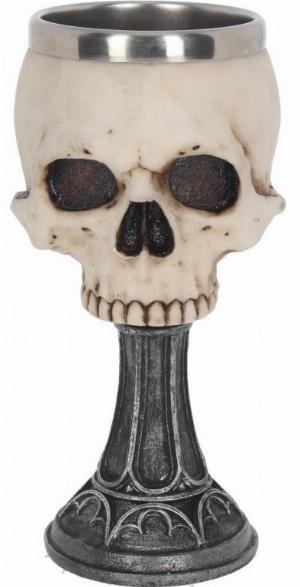 Photo of Skull Chalice 18 cm Anne Stokes