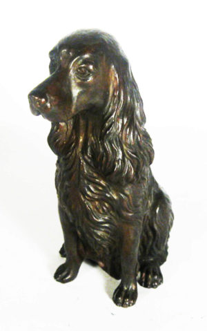 Photo of Spaniel Sitting Bronze Ornament