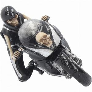 Photo of Speed Reaper Skeleton Biker Figurine James Ryman