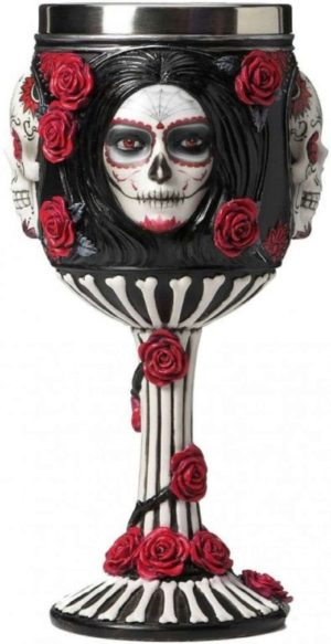 Photo of Sugar Skull Goblet 18cm James Ryman