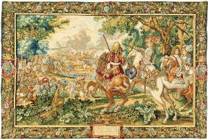Phot of Sun King Wall Tapestry
