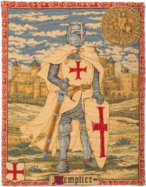 Phot of Templar Wall Tapestry