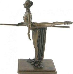 Photo of The Discipline Ballerina Bronze Figurine