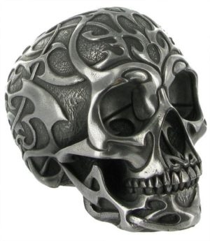 Photo of Tribal Skull Silver Medium