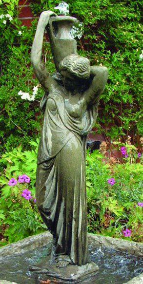Photo of Water Bearer Stone Statue
