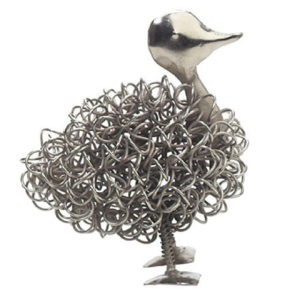 Photo of Wiggle Duck Metal Sculpture