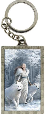 Photo of Winter Guardians 3D Keyring (Anne Stokes)
