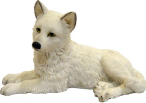 Photo of Winter Wolf Pup Figurine 12cm