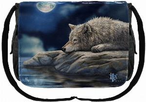 Photo of Wolf Quiet Reflection Messenger Bag (Lisa Parker)