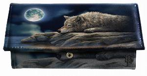 Photo of Wolf Quiet Reflection Purse (Lisa Parker) 18cm