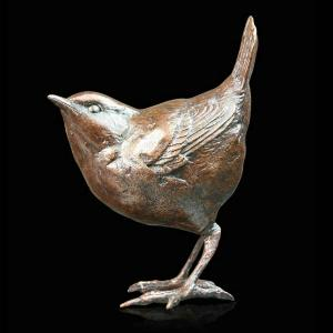Photo of Wren Standing Figurine (Limited Edition) Michael Simpson