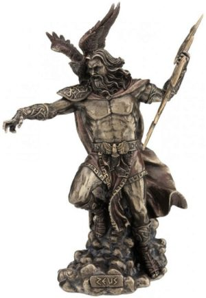 Photo of Zeus Bronze Statue 30cm
