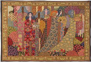 Phot of Aladin By Gustav Klimt Wall Tapestry