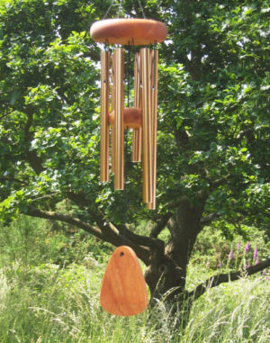 Photo of Bronze Arias Wind Chime 18 inches