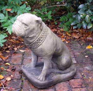 Photo of Bulldog Stone Ornament