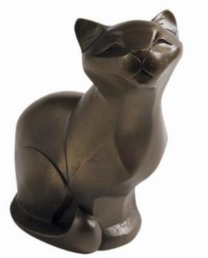 Photo of Cat Sitting Bronze Figurine (Arora Gallery Design Collection)