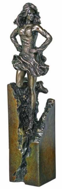 Photo of Celtic Dancer Bronze Sculpture 27cm