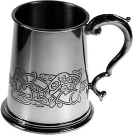Photo of Celtic Dragon Tankard