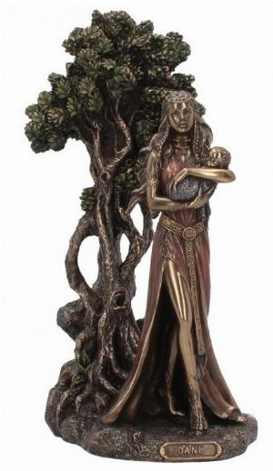 Photo of Danu Mother of the Gods Bronze Figurine 30 cm