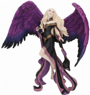 Photo of Dark Messenger Angel Figurine (James Ryman) 22cm