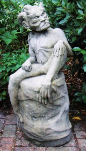 Photo of Devil Stone Statue
