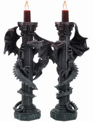 Photo of Dragon Candle Holders (Set of 2)
