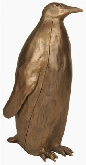 Photo of Emperor Penguin Large Bronze Sculpture (Paul Jenkins) 39 cm