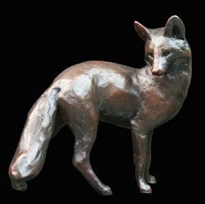 Photo of Fox Standing Bronze Figurine (Limited Edition) Michael Simpson