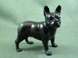 Photo of French Bulldog Bronze Figurine