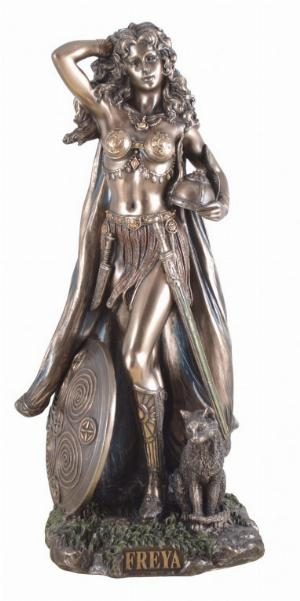 Photo of Freya Bronze Statue 27 cm