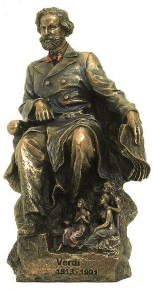 Photo of Giuseppe Verdi Bronze Figurine