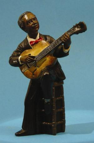 Photo of Guitarist All That Jazz Figurine