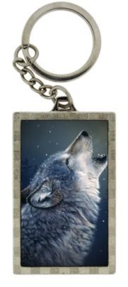 Photo of Howling Wolf 3D Keyring (Daniel Smith)