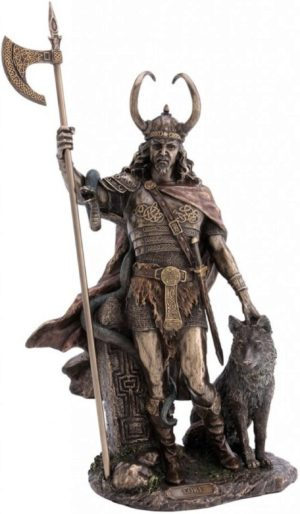 Photo of Loki Bronze Statue 35cm