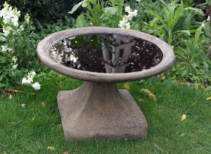 Photo of Low Stone Birdbath