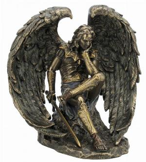 Photo of Lucifer Fallen Angel Bronze Figurine