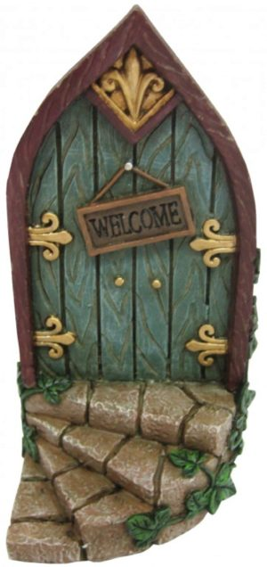 Photo of Magical Fairy Door Welcome Plaque Ornament 18cm
